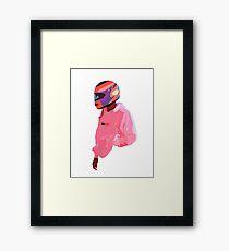 Frank Nascar  Framed Print
