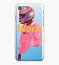Blond Nascar iPhone Case/Skin