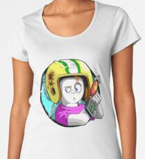 Commander Keen Women's Premium T-Shirt