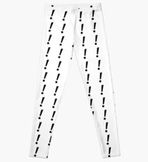 Exclamation Mark! Leggings