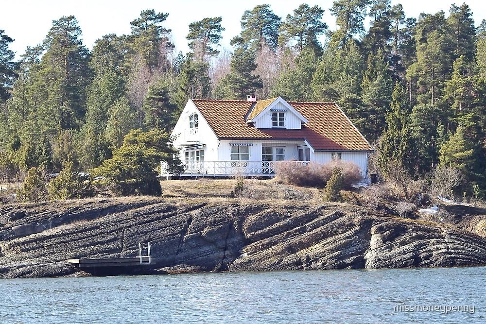 Fjord abode - Norwegian Houses Series #21 by missmoneypenny