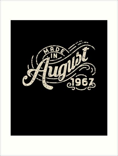 Láminas artísticas «Hecho en agosto de 1967 Edición - 50 años de ... c94b40d3f896c