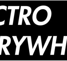 ELECTRO EVERYWHERE (BLACK) Sticker