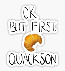 quackson Sticker