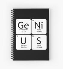 GeNiUS Spiral Notebook