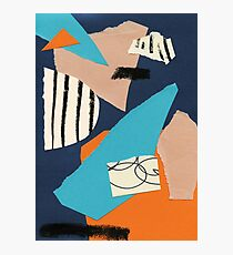abstract collage Photographic Print