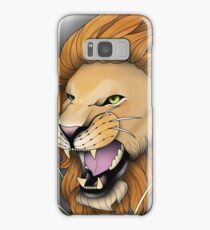 Neotraditional Lion Samsung Galaxy Case/Skin