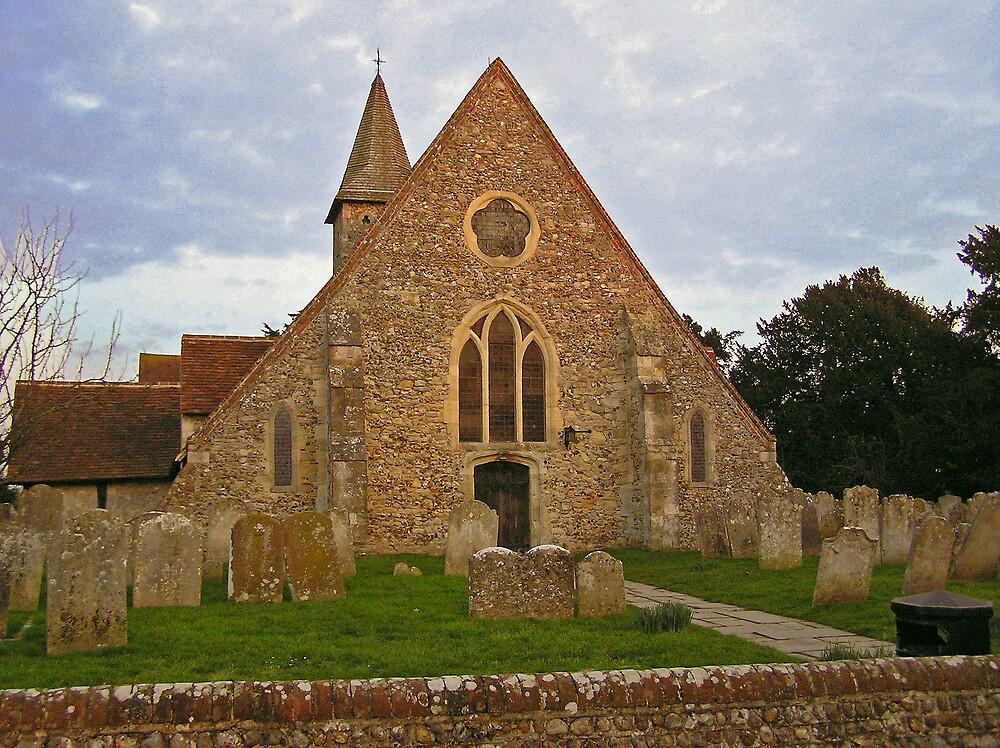 Warblington Church by Catherine Beldon