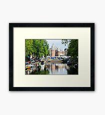 Amsterdam castle Framed Print