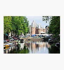 Amsterdam castle Photographic Print