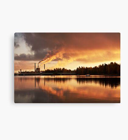 Oulu Canvas Print