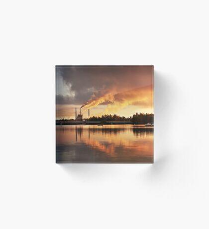 Oulu Acrylic Block
