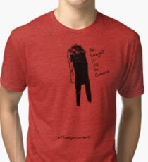 'He caught it all' Tri-blend T-Shirt