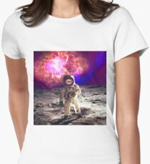 Space Man Women's Fitted T-Shirt
