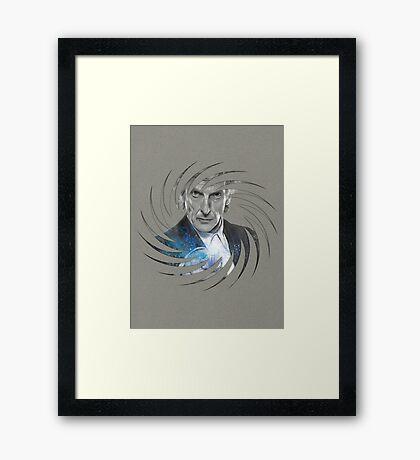 The Spin Doctor Framed Print