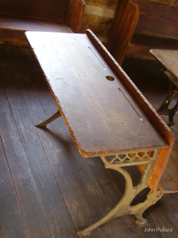 School Desk by John Pollard