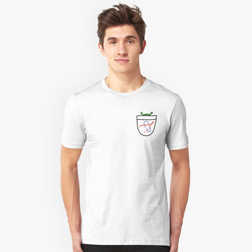 Pocket Alien Unisex T-Shirt Front
