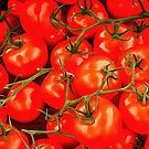 Tomatoes On The Vine by Dorothy Berry-Lound