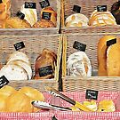 Rustic Bread Display by Dorothy Berry-Lound