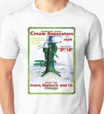 SEARS, ROEBUCK : Vintage Cream Separators Advertising Print T-Shirt