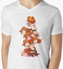 Ace - one piece - chibbi Men's V-Neck T-Shirt