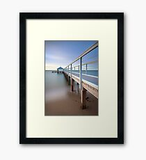 Sullivan Bay Jetty - Sorrento Framed Print
