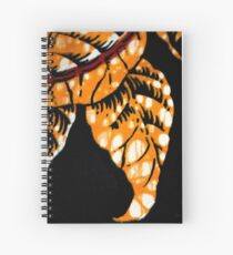 Batik pattern Spiral Notebook