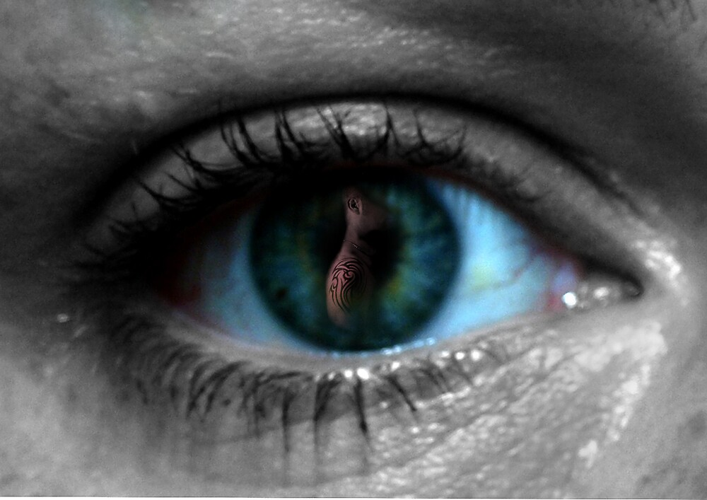 there's something in my eye! by Di Dowsett