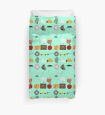 Once Upon a Time symbols Duvet Cover