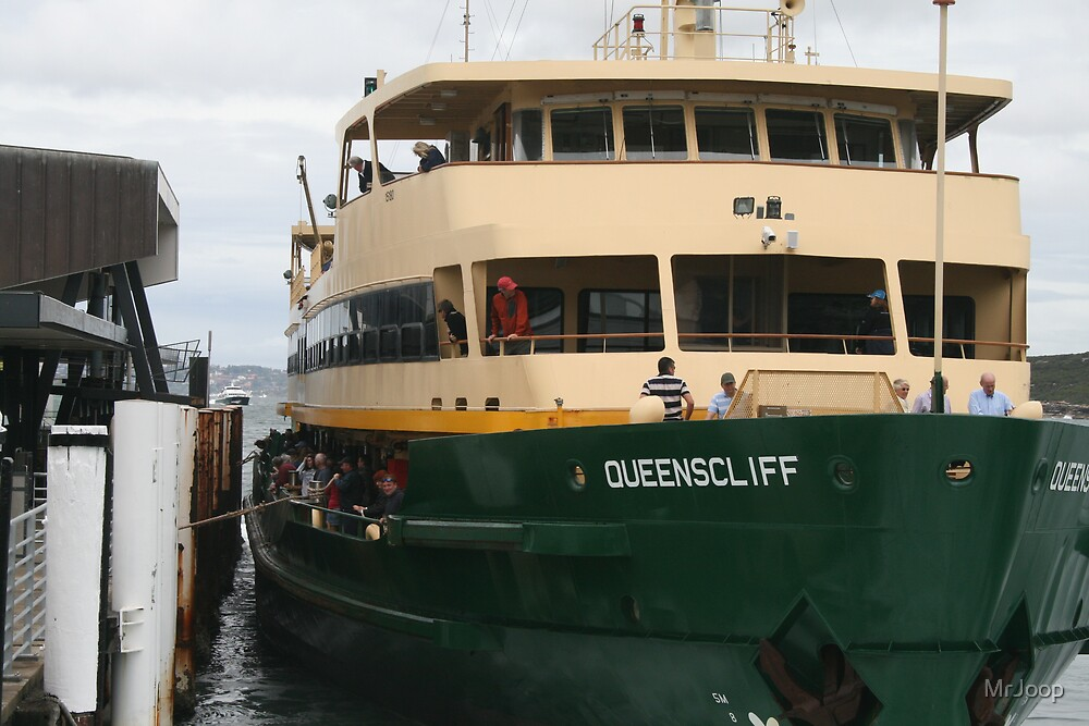 The Manly Ferry - An Australian Icon?  by MrJoop