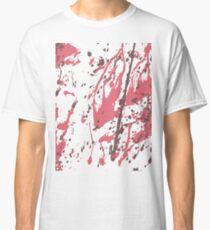 Color blot spots RED Classic T-Shirt