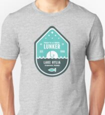 Home of the Big Lunker Unisex T-Shirt