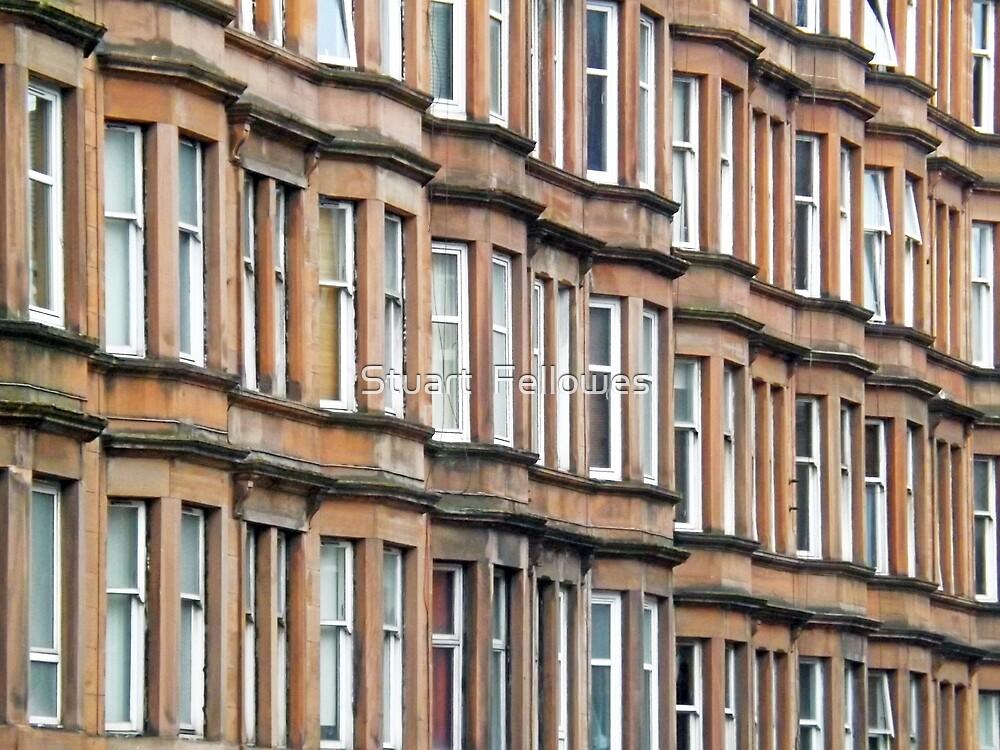 Tenement Windows by Stuart  Fellowes