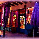 Festive Shop window by Charmiene Maxwell-Batten
