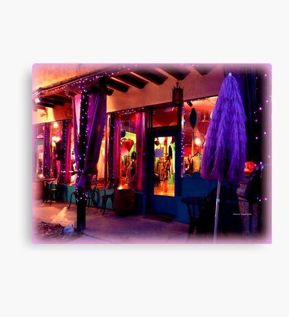 Festive Shop window Canvas Print
