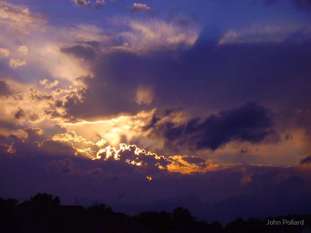Arkansas Evening by John Pollard