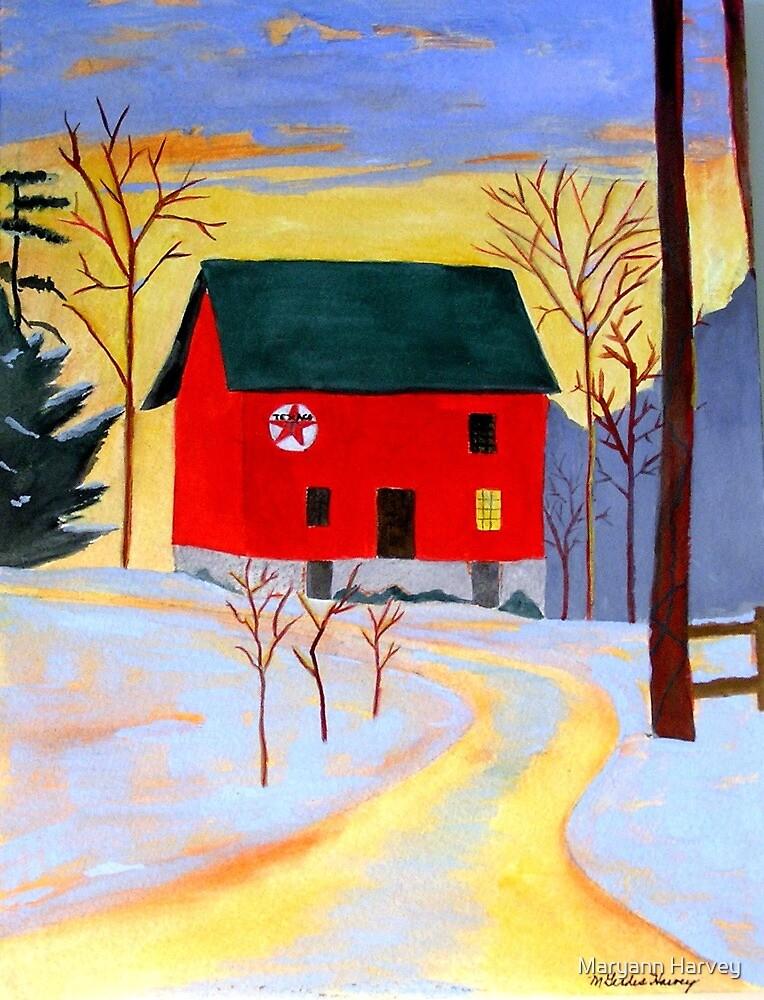 A Light In The Barn by Maryann Harvey