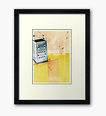 OBJECTS HAVE FEELİNGS TOO... Framed Print