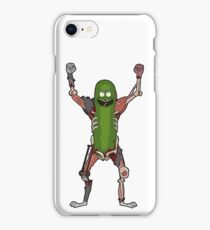 PICKLE RICK! (No Text) iPhone Case/Skin