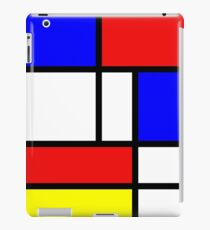 Red,blue yellow and white iPad Case/Skin