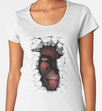 Titan in the wall Women's Premium T-Shirt