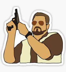 The Big Lebowski Walter Sticker