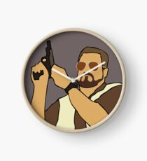 The Big Lebowski Walter Clock