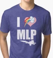 I Heart Loyalty Tri-blend T-Shirt