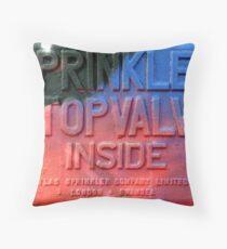 Sprinkler  Throw Pillow