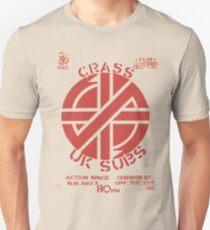 Crass UK Subs Poster T-Shirt
