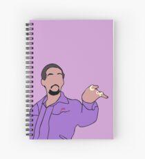The Big Lebowski Jesus Spiral Notebook