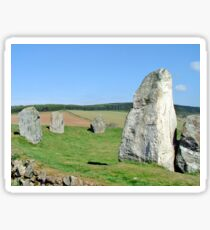 Easter Aquhorthies Stone Circle Sticker