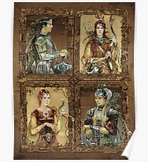 King of Narnia - Peter,Susan,Lucy,Edmund Poster