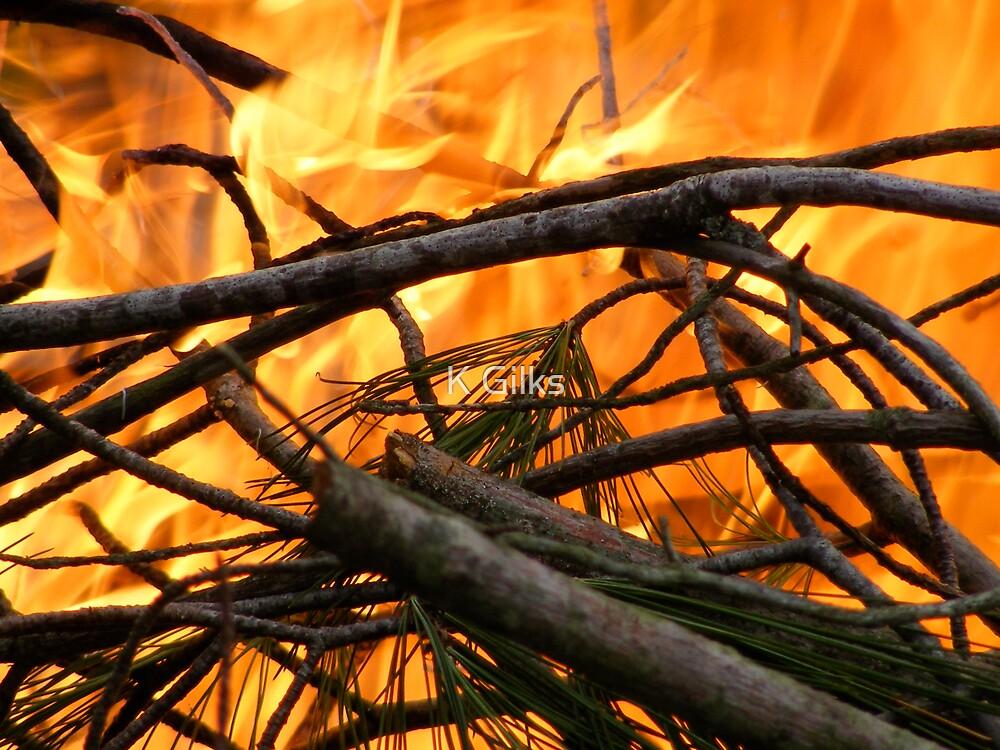Burn by K Gilks